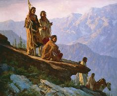With Mother Earth  by Howard Terpning