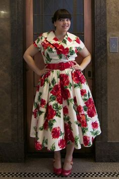 dress from Pinup Girl Clothing - Totally gorge! And so cute with those shoes. African Wedding Dress, Wedding Dresses, Curvy Fashion, Plus Size Fashion, Pinup Girl Clothing, Vintage Models, Dress For Success, Frocks, Retro Vintage