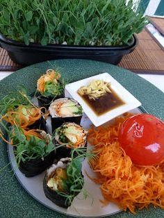 ELENA'S INSANE RAW FOOD SUSHI