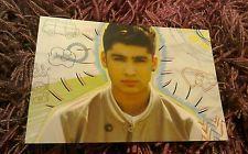 "One Direction 1D Zayn Malik 6"" x 4"" Photo Card Photo Print 2012 Number 45"