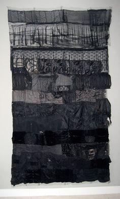 Femke van Gemert | Projects | Textile works | Black period
