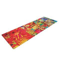 """Ebi Emporium """"Painting the Soul"""" Yoga Mat"""