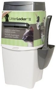 Litter Locker II... the solution to all cat owner's stinky litter problems!