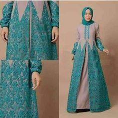 Simple Long Dress, Simple Dresses, Nice Dresses, Muslim Gown, Abaya Fashion, Fashion Outfits, Gaun Dress, Muslimah Wedding Dress, Moslem Fashion