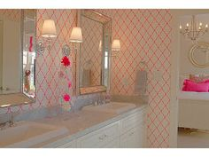 Great For A Little Girlsu0027 Bathroom   BDG Style: Idaho Project: Kidu0027s Rooms