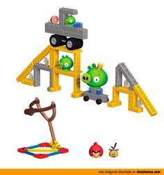 Kit de construcción Angry Birds.