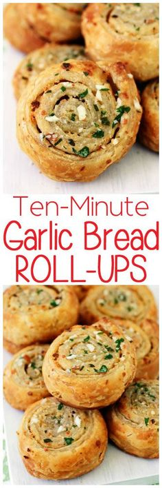 Just when you thought garlic bread couldn't get any better it's kicked up a notch with the addition of flaky, melt-in-your-mouth puff pastry.