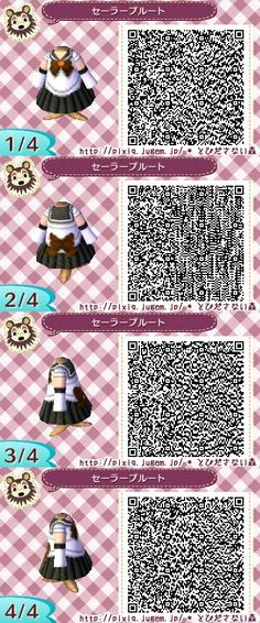 SAILOR MOON. PLUTO. ANIMAL CROSSING NEW LEAF. QR CODE. ACNL