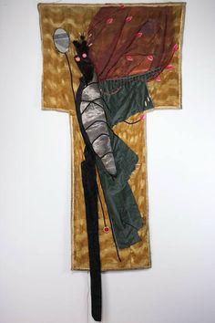 władysław hasior, sztandar ekstazy, asamblaż