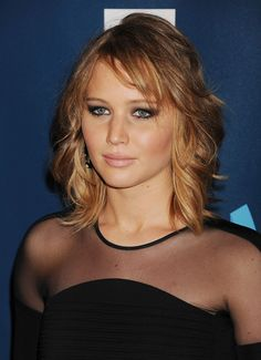 """jennifer lawrence short hair 