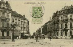 Brussel Bruxelles, Stefanie Plein Place Stéphanie Archi Design, Antwerp, Vintage Postcards, Taj Mahal, Street View, Post Card, Photographs, Photos, City