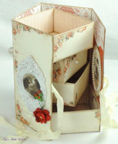 Magic 4-Drawer Box with WPC Cutting File and Manual Tutorial