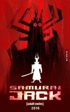 It's offiacial!!! On 2016 Samurai Jack is Back