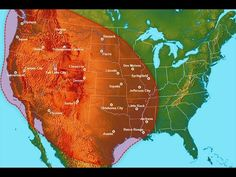 New research published today in the journal Geological Society of America, has discovered the 12 recorded mega-eruptions of the Yellowstone super-volcano or (caldera) located in the north-central US states of Idaho, Montana, and Wyoming near the. Wyoming, Earthquake News, Earthquake Activity, Yellowstone Volcano, Social Studies Worksheets, Believe, Earth Wind & Fire, North America Map, Earth Photos