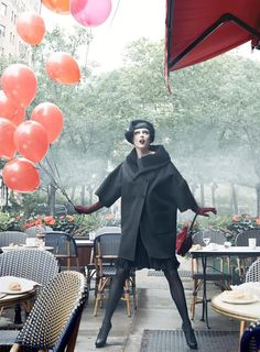 noirfacade: Paris, je t'aime | Coco, Agyness, Sasha, Caroline by Steven Meisel for Vogue US September 2007