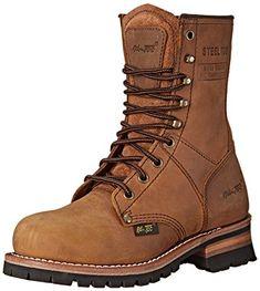 "AdTec Women's 9"" Steel Toe Logger Work Boot, Brown, 8.5 M... https://www.amazon.com/dp/B00OUHXYZ2/ref=cm_sw_r_pi_dp_x_AA2OxbAV5NZ2K"