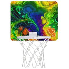 Fractal Art 16 Mini Basketball Hoops