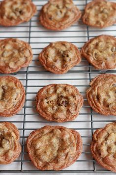 """Chocolate Chip Kahlua Cookies recipe from Half Baked Harvest - """".chocolate and just a kick of kahlua all baked into one heavenly cookie. Cookie Desserts, Just Desserts, Cookie Recipes, Delicious Desserts, Dessert Recipes, Yummy Food, Xmas Recipes, Cookie Favors, Cookie Cups"""