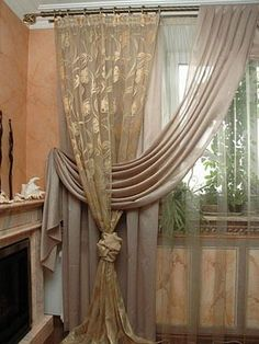 The best linving room. Curtains living room design.  http://lovexchic.blogspot.it/