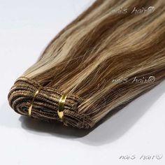 $92.95 Mega Hair Cabelo Tecido #4/613 (Loiro Mesclado)
