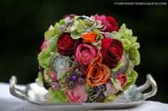 steampunk bouquets   Victoria_F steampunk bouquet