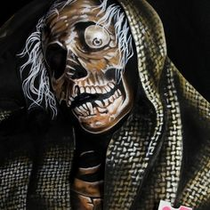 Creepshow Body Paint