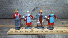 Vintage Barclay Manoil Britains Lead Farm Figures lot of 4 #BarclayManoil
