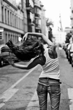 Whip my hair back n forth