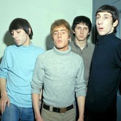 The Who - Keith, Roger, John and Pete