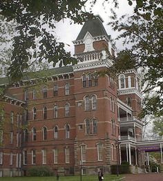 Athens Asylum for the Insane also known as The Ridges. I had prom here in 1997. We were the only class ever allowed to do this.