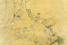 (한국)신윤복 명화 22점 (申潤福 : 1758~19世紀 初) Korean Painting, Korean Art, Postmodernism, Conceptual Art, Vintage World Maps, Concept Art, Post Modern History, Postmodern Literature