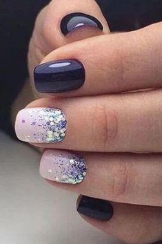 Winter Nail Art, Winter Nail Designs, Cool Nail Designs, Acrylic Nail Designs, Winter Nails, Gel Nail Polish Designs, Nail Ideas For Winter, Marble Nail Designs, Winter Art