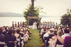 A Whimsical + Fun DIY Wedding: Alexis + Evan