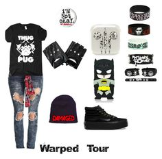"""""""Warped Tour"""" by alexis-miller-3 on Polyvore"""