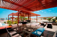 rooftop-deck-and-patio-modern-colorful-house-design-with-wood-ceiling