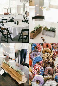 Simple decor | Pecan Grove @ Salt Lick #austin #brunch #wedding #tablescape