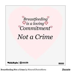 Sold! Breastfeeding Not a Crime Room Graphics