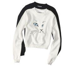 Glamour Opening Ceremony sweater #fashion #cat