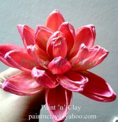 corn husk flower