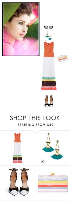 """""""Brunch with Mom"""" by desperer ❤ liked on Polyvore featuring Missoni, Stella & Dot, Givenchy, Edie Parker, Fendi, brunch and polyvorecontest"""