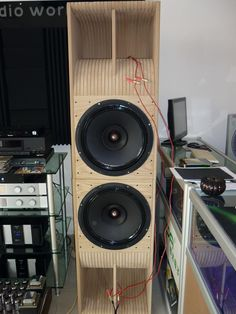"Speaker Wave Guide Design 05 with Audio Nirvana 15""Zoll Fullrange Drivers..."
