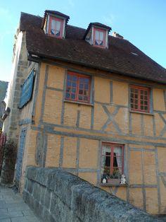 Aubusson (Creuse) Limousin, Poitou Charentes, France, Architecture, Old Houses, Wall Stud, Vienna, Arquitetura, Architecture Design
