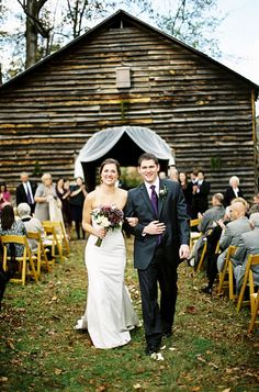 DIY Rustic wedding North Carolina Barn Wedding by Smitten Photography  Read more - http://www.stylemepretty.com/2010/12/28/north-carolina-barn-wedding-by-smitten-photography/