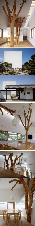 Garden Tree House par Hironaka Ogawa & Associates