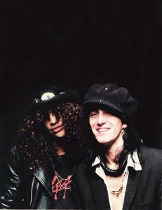 Slash & Izzy Stradlin