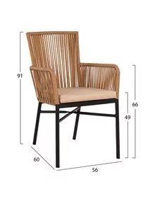 ΚΑΡΕΚΛΕΣ-ΠΟΛΥΘΡΟΝΕΣ < Έπιπλα Εξωτερικού χώρου (p.13) | HomeMarkt Outdoor Chairs, Outdoor Furniture, Outdoor Decor, Home Decor, Decoration Home, Room Decor, Garden Chairs, Home Interior Design, Backyard Furniture