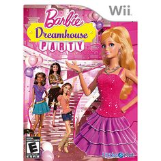 """Barbie Dreamhouse Party for Nintendo Wii - Majesco - Toys """"R"""" Us"""