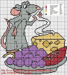 grille gratuite : Ratatouille