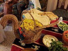 Goose basket to serve breads