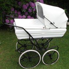 ODDER Dänischer Kinderwagen Nostalgie creme/weiss XXL LOOK in Osterrönfeld